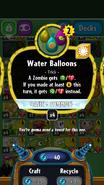 Water Balloons stats