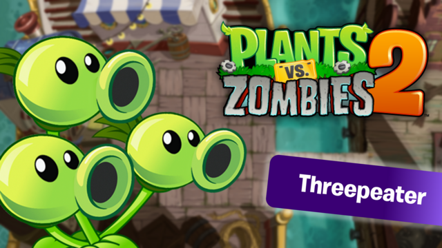 File:PvZ2 Threepeater WallpaperbyKh07.png