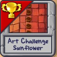 Art Challenge Sunflower icon