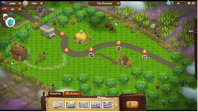 File:Plants Vs. Zombies Aventure Map 1 The Boonies.png