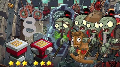 PvZ Online - Adventure Mode - Battle of the Great Wall 8