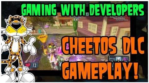 PvZ Garden Warfare Gaming with Developers - New Cheetos DLC!