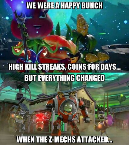 File:Meme Plants vs Zombies Garden Warfare 2 Z-Mech hoards.jpg