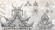 Hong Long Props Concept Art