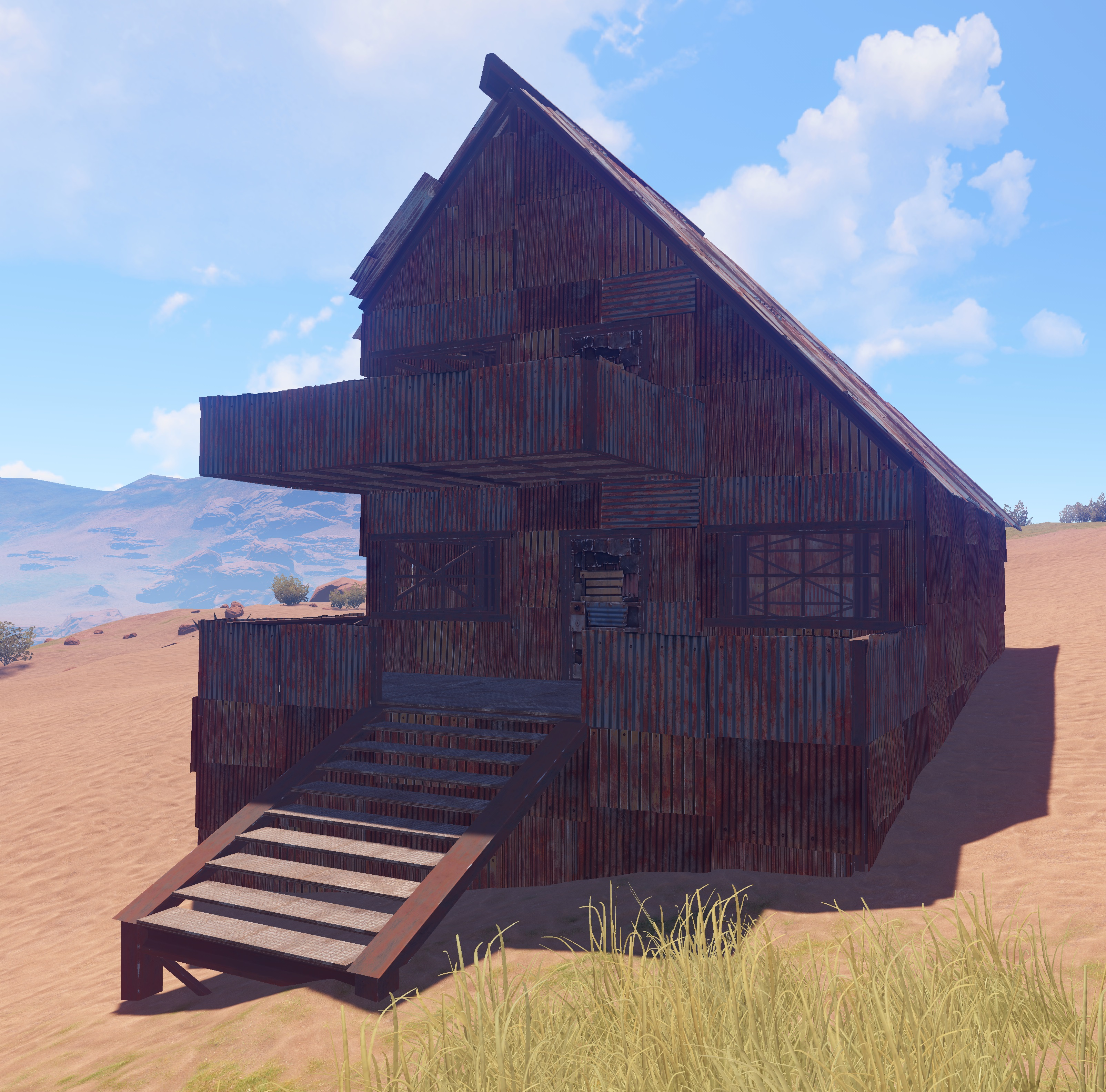 Category organization rust wiki fandom powered by wikia for Sheet metal house plans