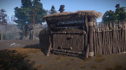 High External Wooden Gate Rust Wiki Fandom Powered By