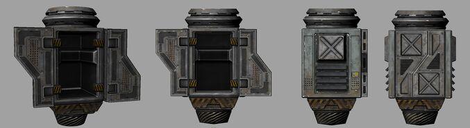 SupplyBunker Pod