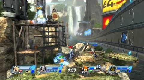 PlayStation All-Stars Battle Royale - Fearless