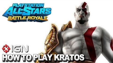 How to Use Kratos in PlayStation All-Stars Battle Royale