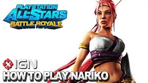 How to Use Nariko in PlayStation All-Stars Battle Royale