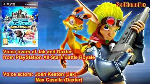 PlayStation All Stars Battle Royale Jak & Daxter Voice Over