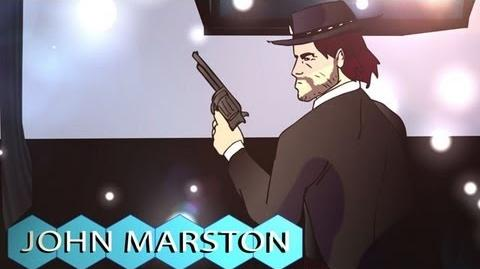 John Marston - PlayStation All-Stars Battle Royale Dream Roster