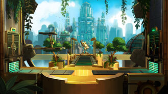 Ratchet Metropolis 03