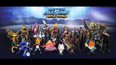 Playstation All-Stars Battle Royale Music Sandover Village - Hot Shots Golf