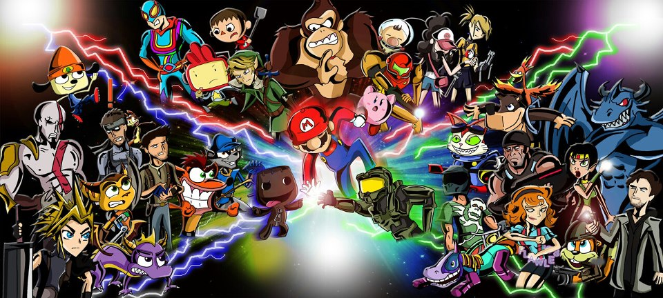 Playstation All Stars Wiki: Image - Super All-Stars X Battlezone.jpg