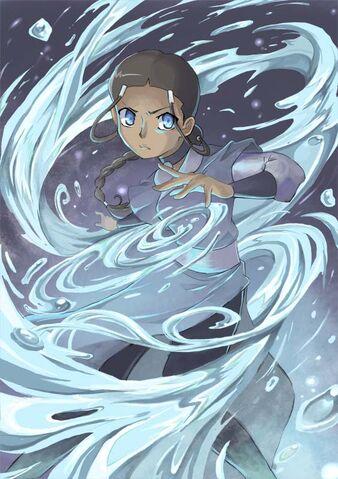 File:Waterbender Katara by arugaisou.jpg