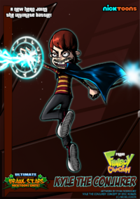 Nicktoons kyle the conjurer by neweraoutlaw-d5hcmyf