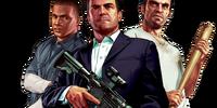 Michael, Trevor, and Franklin