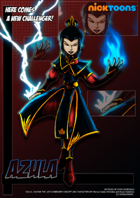 Nicktoons azula by neweraoutlaw-d53yl0b
