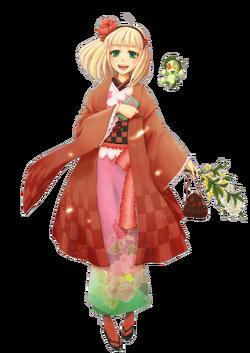 Shiemi moriyama render by ikariuzumaki-d3knegl