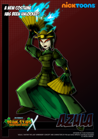 Nicktoons azula alternate costume by neweraoutlaw-d62sr6w