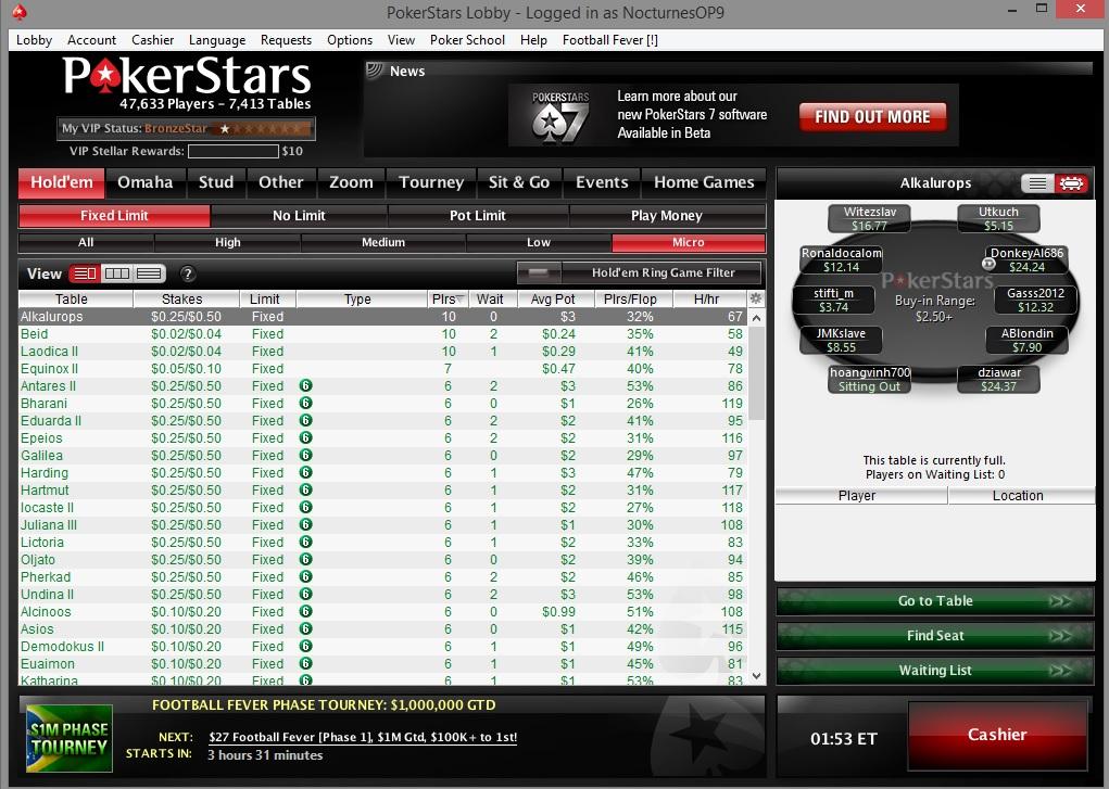 Poker gutshot odds