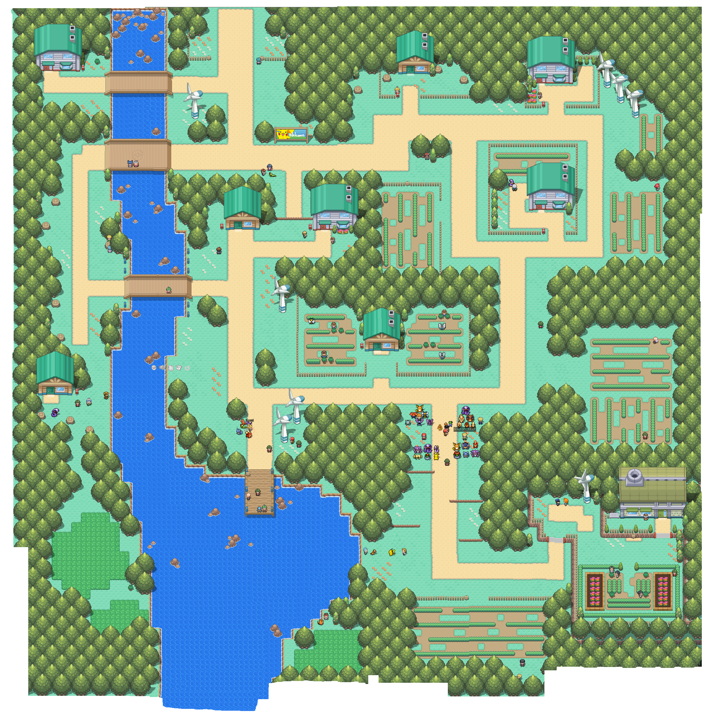 how to get town map in pokemon fire red