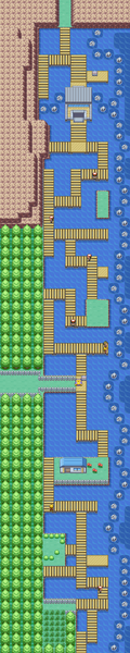 Kanto Route 12 Map