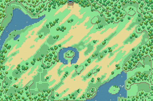 Kanto Safari Zone Map