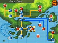 Cargo Ship Map Almia