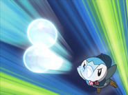 Team Poképals Piplup Bubble Beam