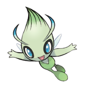 251Celebi Pokemon 20th Anniversary
