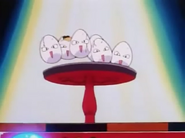 Exeggcute on stage