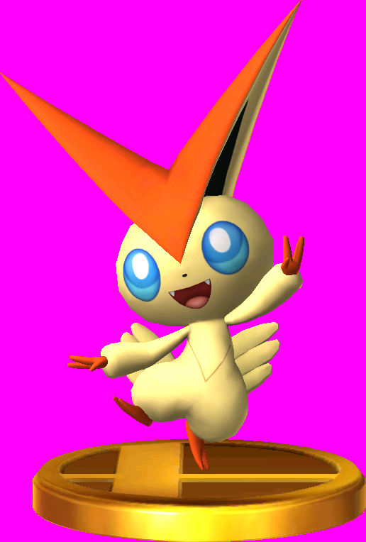 Victini trophy SSB3DS