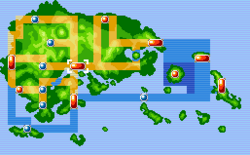 Mauville City Map