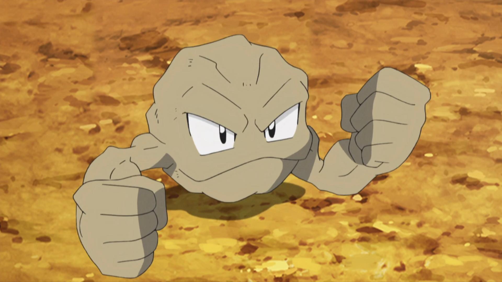 Brock S Geodude Anime