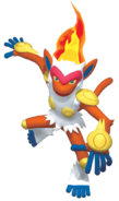392Infernape Pokemon Battle Revolution 2