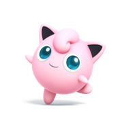 Jigglypuff (Super Smash Bros. for 3DS - Wii U Artwork)