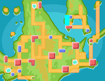 Sinnoh Route 225 Map