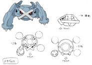 Metagross concept art