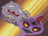 Jessie Arbok Take Down