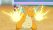 Iris Dragonite Thunder Punch