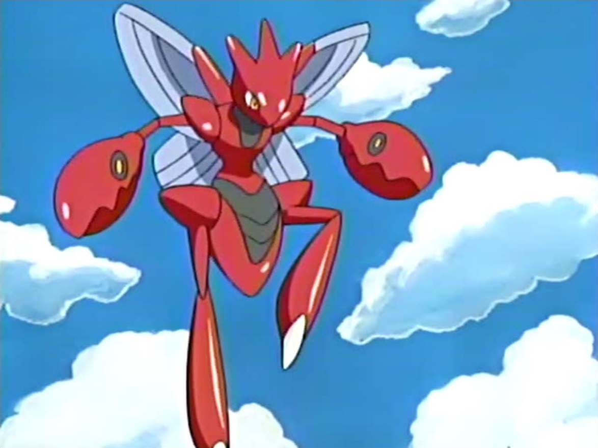 Luna S Scizor Pok 233 Mon Wiki Fandom Powered By Wikia