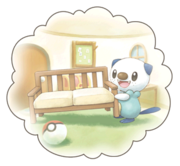 Oshawott-DreamWorldBubble-Art
