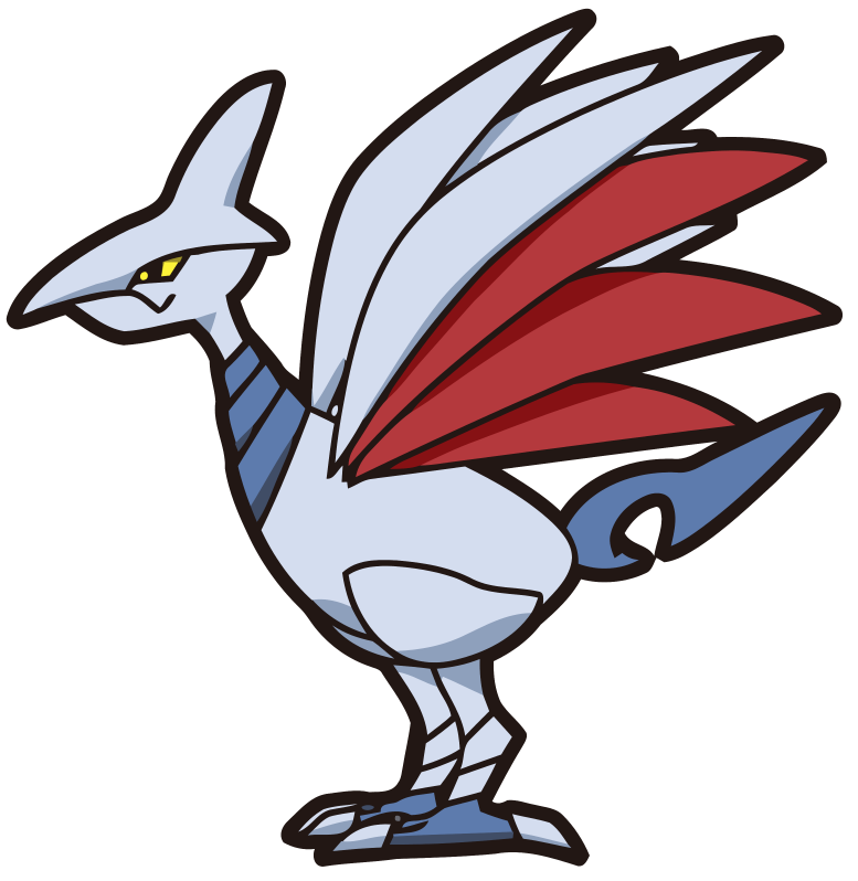pokemon skarmory coloring pages - photo#32