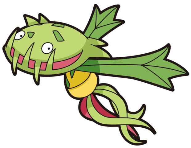 File:455Carnivine DP anime 2.png