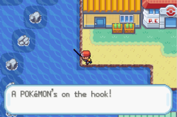 Old rod pok mon wiki fandom powered by wikia for Fishing rod pokemon moon