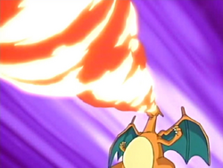 Cassidy Charizard Fire Spin
