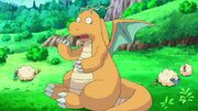 Iris Dragonite scared