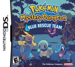 Pokemon Mystery Dungeon Blue Rescue Team (Box Art)